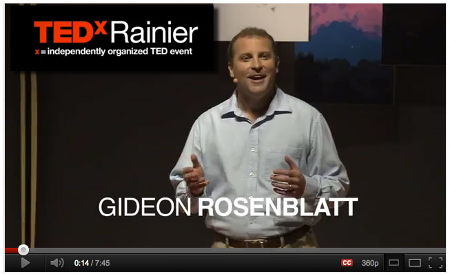 Watch Gideon's TEDx talk on The Soulful Company